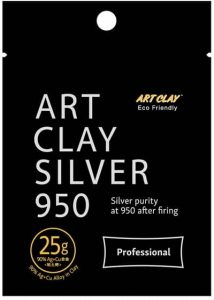 Art Clay 950 Silber - 25g Packung