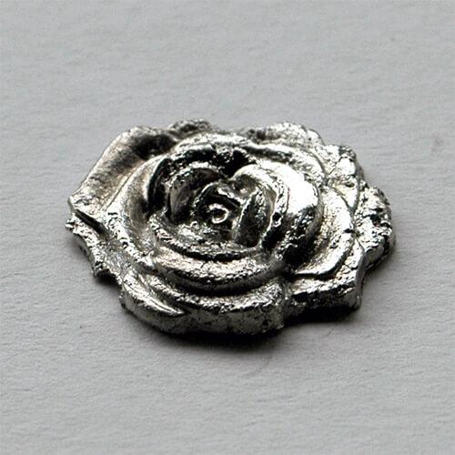 Rose aus Resten von Prometheus Silver 950